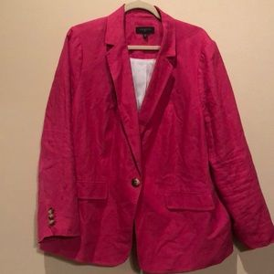 Talbot's Linen Blazer- Perfect for Easter